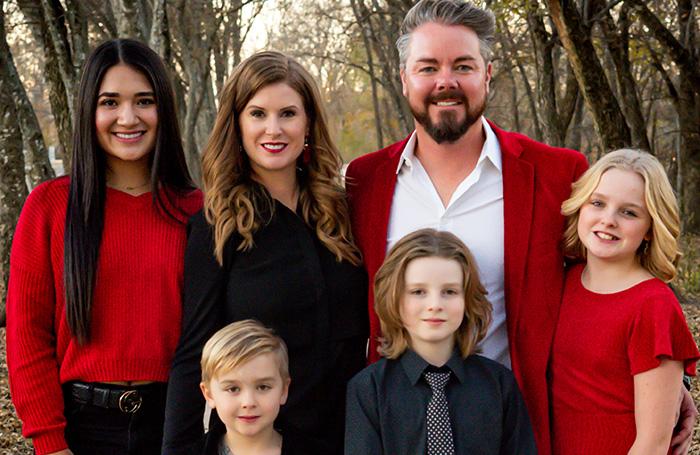 family photo, custom home builder tx