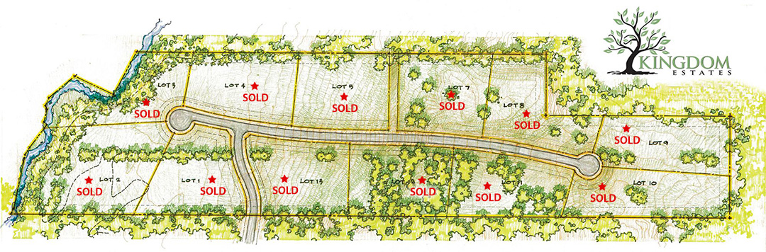 kingdom estates available lots, custom homes in fairview texas